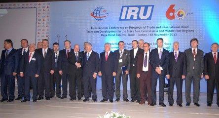 """""""Karadeniz, Orta Asya ve Ortadoğu Bölgelerinde  Ulaştırma ve Transit Taşımacılığın Geleceği"""" Uluslararası Konferansı Derneğimizin Katılımıyla Gerçekleşti"""