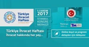 Türkiye İhracat Haftası 1 - 3 Kasım/ İstanbul