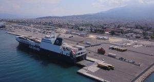 U.N. Ro-Ro Yunanistan'ın Patras Limanı'na Seferlere Başladı