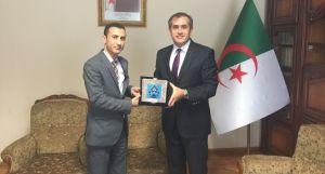 UND'den Cezayir Ticaret Ataşeliğine Ziyaret