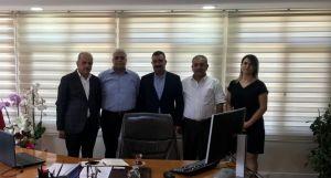 UND Hatay Yönetim Kurulu Üyeleri Doğu Akdeniz Gümrük ve Ticaret Bölge Müdürünü Ziyaret Etti