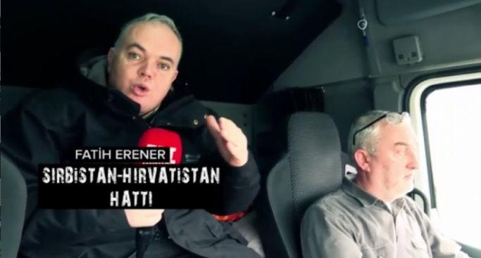 Türk TIR'larına Kurulan Göçmen Tuzağı TRT Haber'de Yayınlandı