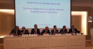 Ulaştırma ve Altyapı Bakanlığı -Türkiye Ulaştırma ve Lojistik Meclisi Koordinasyon Toplantısı Gerçekleştirildi