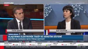 Fatih Şener ile Lojistik Dünyası'nın Konuğu UND İcra Kurulu Başkan Yardımcısı Elif Savrum Oldu