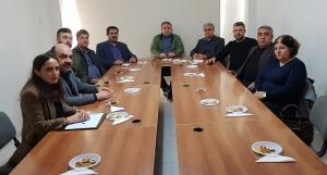 Mersin Çalışma Grubu ve İran-Irak- Afganistan-Türk Cumhuriyetleri Çalışma Grubu Toplantısı Yapıldı