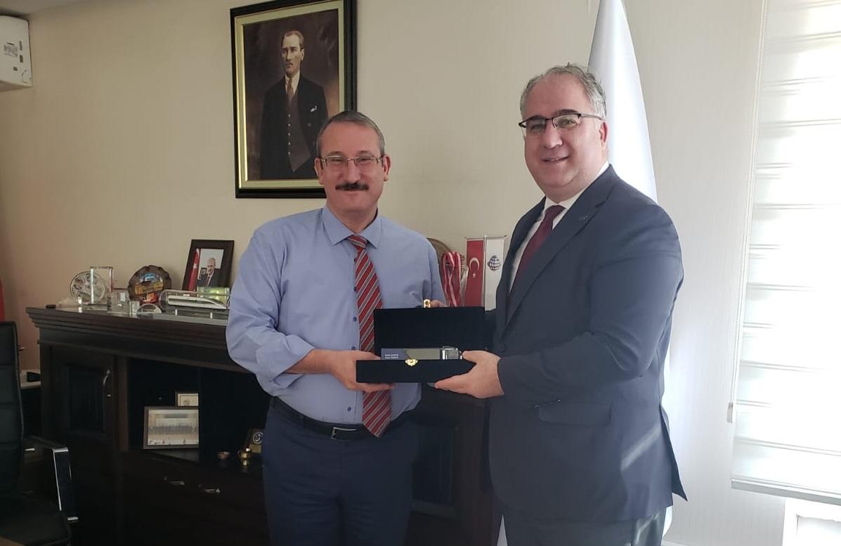 UND'den Ulaştırma ve Altyapı Bakanlığı AB ve Dış İlişkiler Genel Müdürlüğü'ne Ziyaret