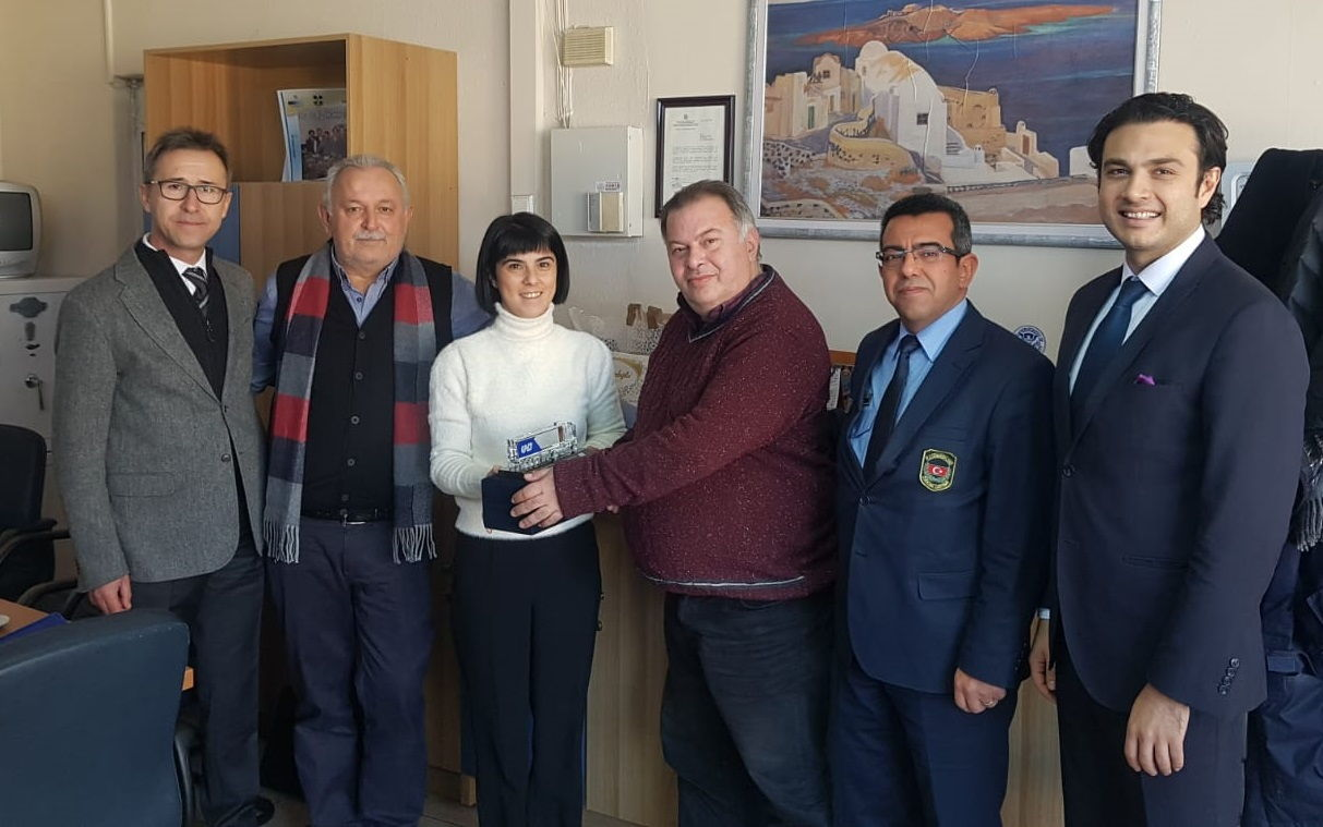 UND, Yeni Atanan Yunanistan Kipi Sınır Kapısı Gümrük Müdürünü Ziyaret Etti