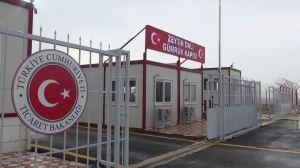 Zeytin Dalı Sınır Kapısı İhracata Açıldı