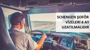 """AB – Türkiye Tedarik Zincirinin Kopmaması İçin: """"Schengen Şoför Vizeleri 6 Ay Uzatılmalıdır"""""""