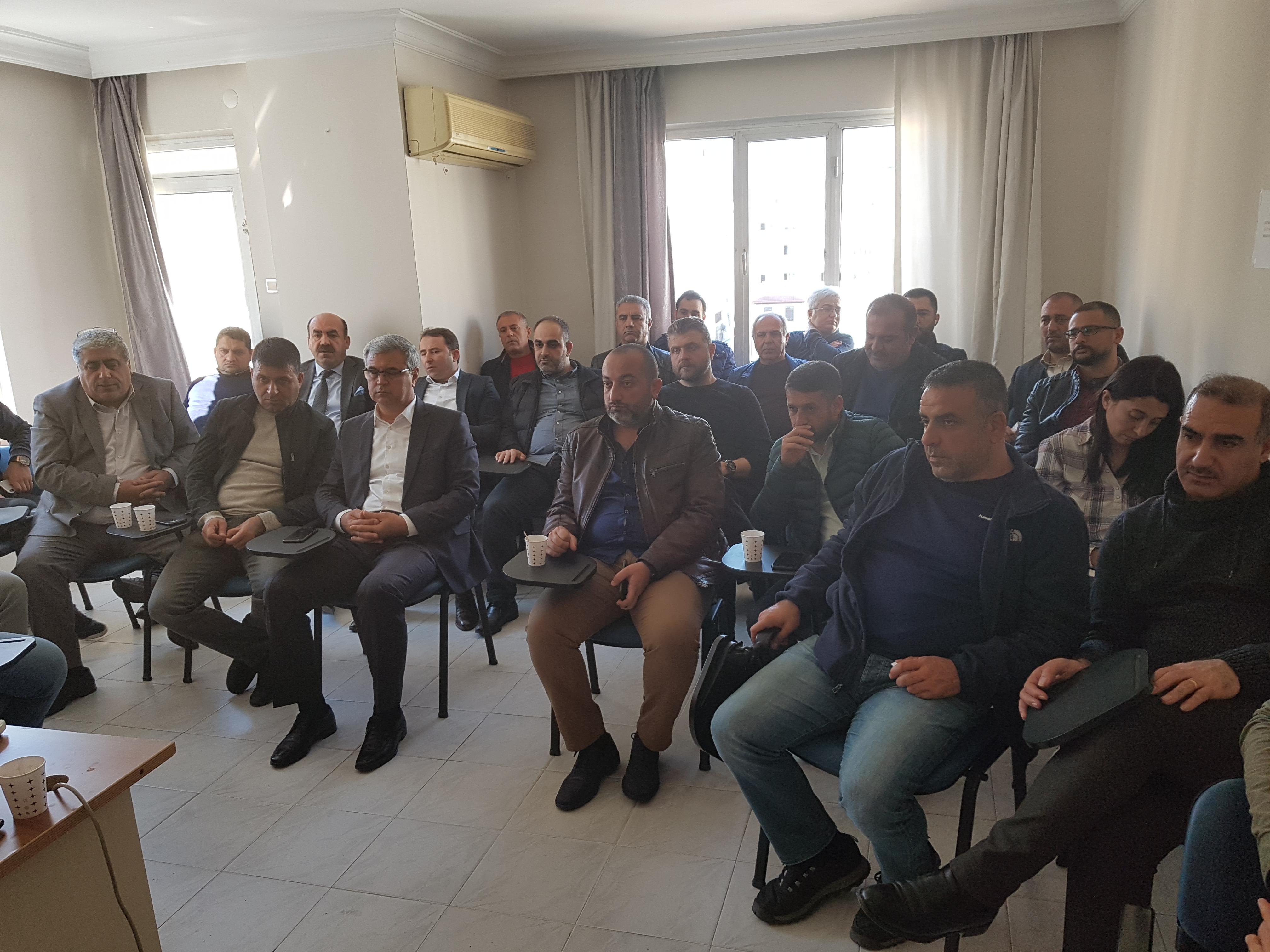 İran-Irak Konulu Genişletilmiş Çalışma Grubu Toplantısı Yapıldı
