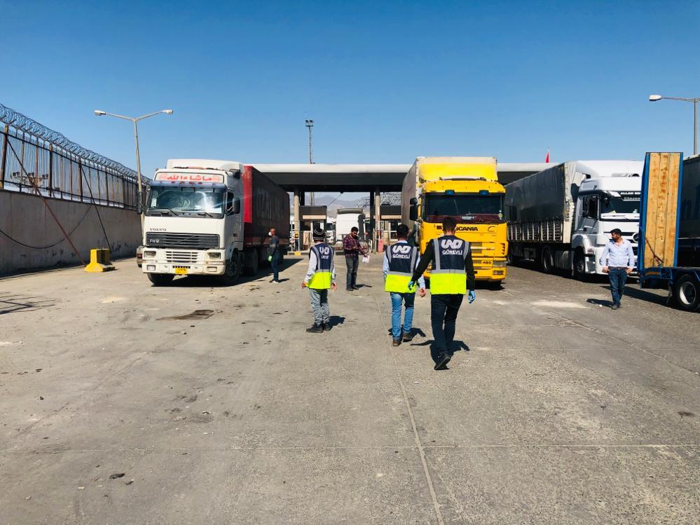 UND, Türkiye - Irak Taşımalarının Aksamaması İçin Tüm Gücüyle Saha Desteği Veriyor