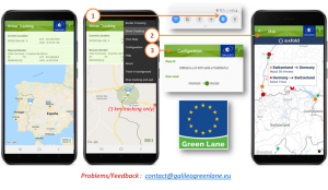 AB Sınır Geçişlerini İzleme Amaçlı Mobil Uygulaması