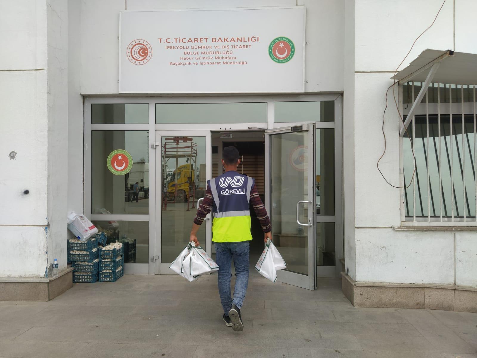 Habur Sınır Kapısı'nda 'Temassız' Formülde Rekor Kırıldı
