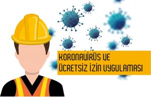 Ücretsiz İzine Çıkarılan Personeller İçin 28-Pandemi Ücretsiz İzin Kodu Sisteme Tanımlandı