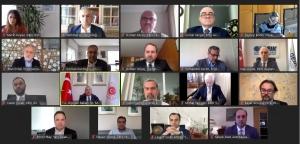 Dışişleri Bakanı Mevlüt Çavuşoğlu Video Konferans Yoluyla Derneğimizin Sorularını Cevapladı