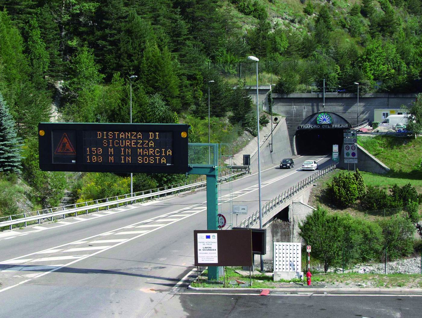 Fréjus Tünelini Kullanacak Araçların Dikkatine