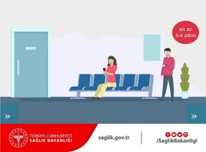 Gümrük Müdürlüklerinde Sosyal Mesafe Kurallarına Dikkat