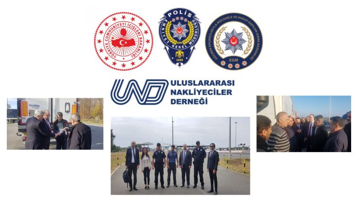 Türk Polisi Yeniden Sırbistan'daki Sınır Kapılarında Taşımacılarımızın Yanında