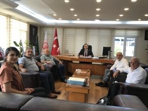 UND Hatay Yönetim Kurulu Üyeleri Doğu Akdeniz Gümrük ve Ticaret Bölge Müdürlüğünü Ziyaret Etti