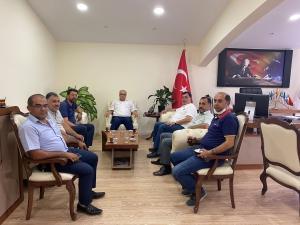 Gaziantep Çalışma Grubu Üyeleri Ulaştırma ve Altyapı Bakanlığı Gaziantep Bölge Müdürlüğünü Ziyaret Etti