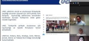 SEDEFED-TÜRKONFED Ortak Yönetim Kurulu Toplantısında UND'nin Covid-19 Dönemi Çalışmaları Paylaşıldı