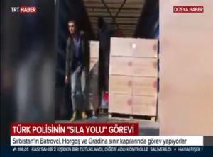 """Türk Polisinin """"Sıla Yolu"""" Görevi Devam Ediyor"""