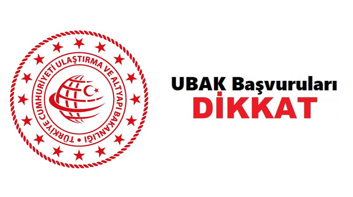 UBAK İzin Belgeleri, Üçüncü Ülke Başvuru Evrakları 4 Ağustos Tarihine Kadar Bakanlık Tarafından Kabul Edilecektir