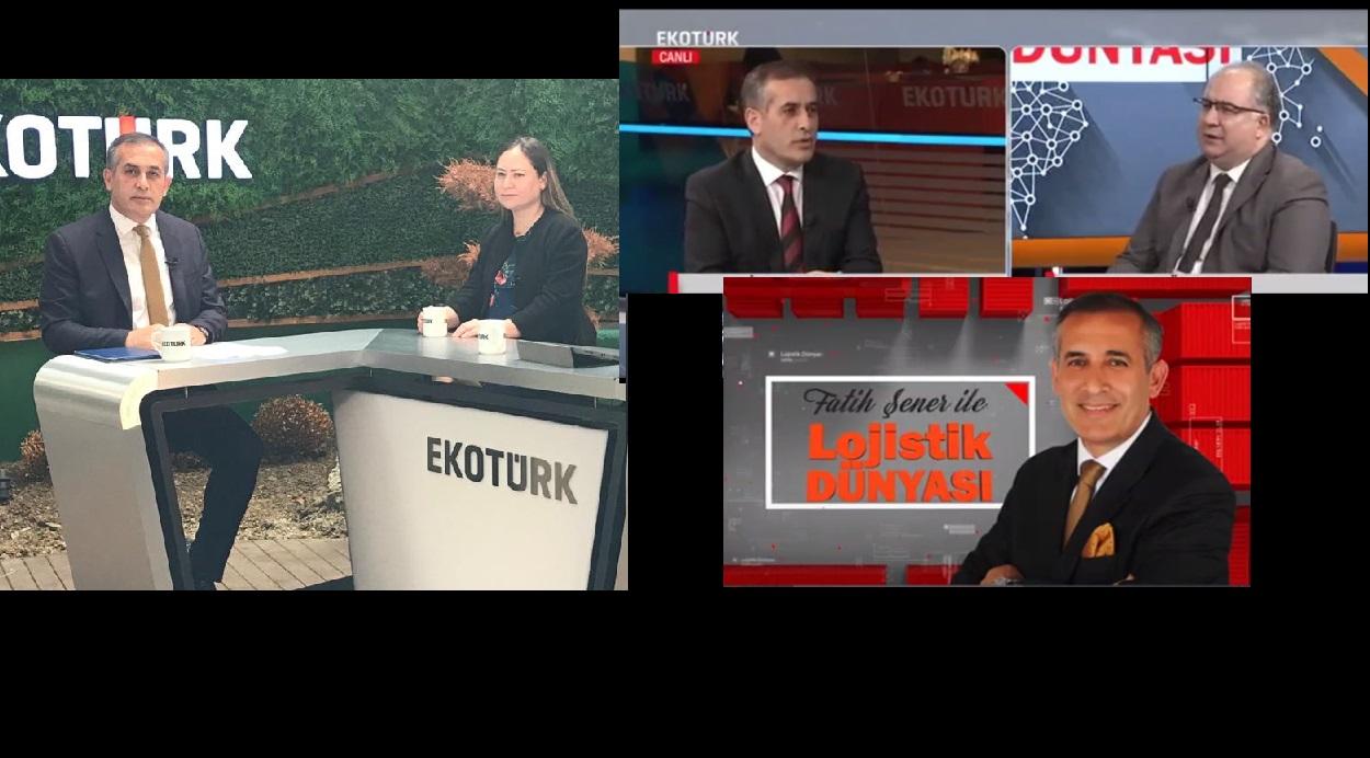 Fatih Şener İle Lojistik Dünyası'nın Konuğu UND İcra Kurulu Başkanı Alper Özel ve İcra Kurulu Başkan Yardımcısı Evren Bingöl Olacak