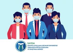 Sakarya Üniversitesi'nden Pandemi Sorumlusu Sertifika Programı