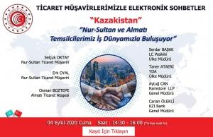 Ticaret Müşavirlerimizle Elektronik Sohbetler-Kazakistan