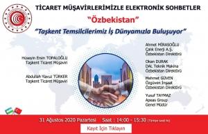 Ticaret Müşavirlerimizle Elektronik Sohbetler - Özbekistan