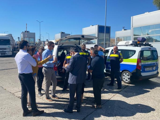 UND, Bulgaristan Otoyol Geçiş Sistemi (BG Toll) Uygulamalarını Sahada İnceledi