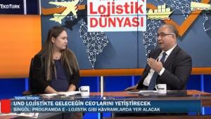 """Fatih Şener ile """"Lojistik Dünyası""""nın bu haftaki konukları UND İcra Kurulu Başkanı Alper Özel ve UND İcra Kurulu Başkan Yardımcısı Evren Bingöl Oldu"""