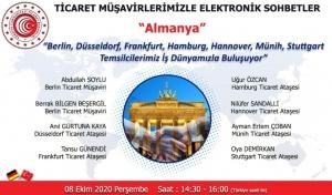 Ticaret Müşavirlerimizle Elektronik Sohbetler - Almanya