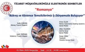 Ticaret Müşavirlerimizle Elektronik Sohbetler - Romanya