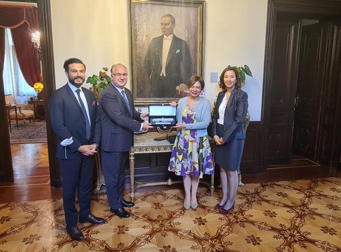 UND, Sofya Büyükelçisi Sayın Aylin Sekizkök'ü Ziyaret Etti