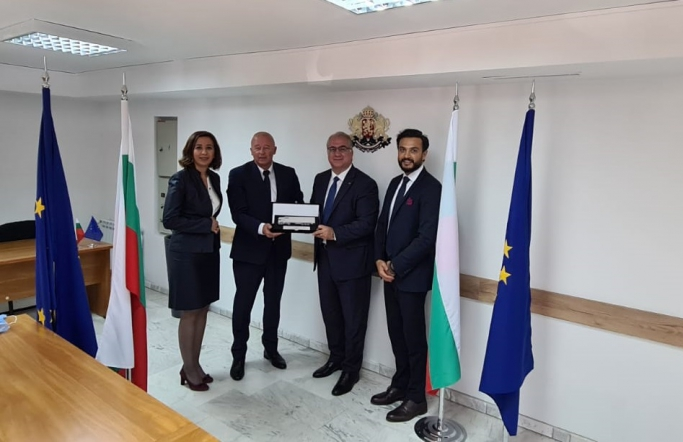 UND, Bulgaristan Ulaştırma, Bilgi Teknolojileri ve Haberleşme Bakan Yardımcısı Sayın Angel Popov ile Sofya'da Bir Araya Geldi