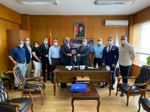 UND, Yeni Atanan Erenköy Gümrük Müdürü İlhami Demirci'yi Ziyaret Etti