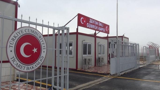 Zeytin Dalı Gümrük Müdürlüğü Gümrüklü Saha Altyapı Çalışmaları Tamamlanmıştır