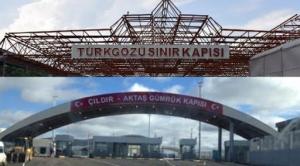 Aktaş-Kartshaki Sınır Kapısı Geçiçi Olarak Kapanmıştır