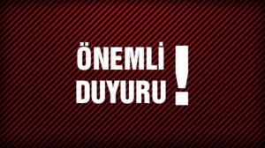Hazar Geçişleri Çekici/Yarı Römork Uygulaması Hakkında Hatırlatma!
