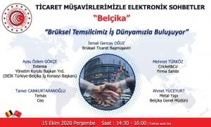Ticaret Müşavirlerimizle Elektronik Sohbetler - Belçika