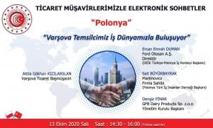 Ticaret Müşavirlerimizle Elektronik Sohbetler - Polonya