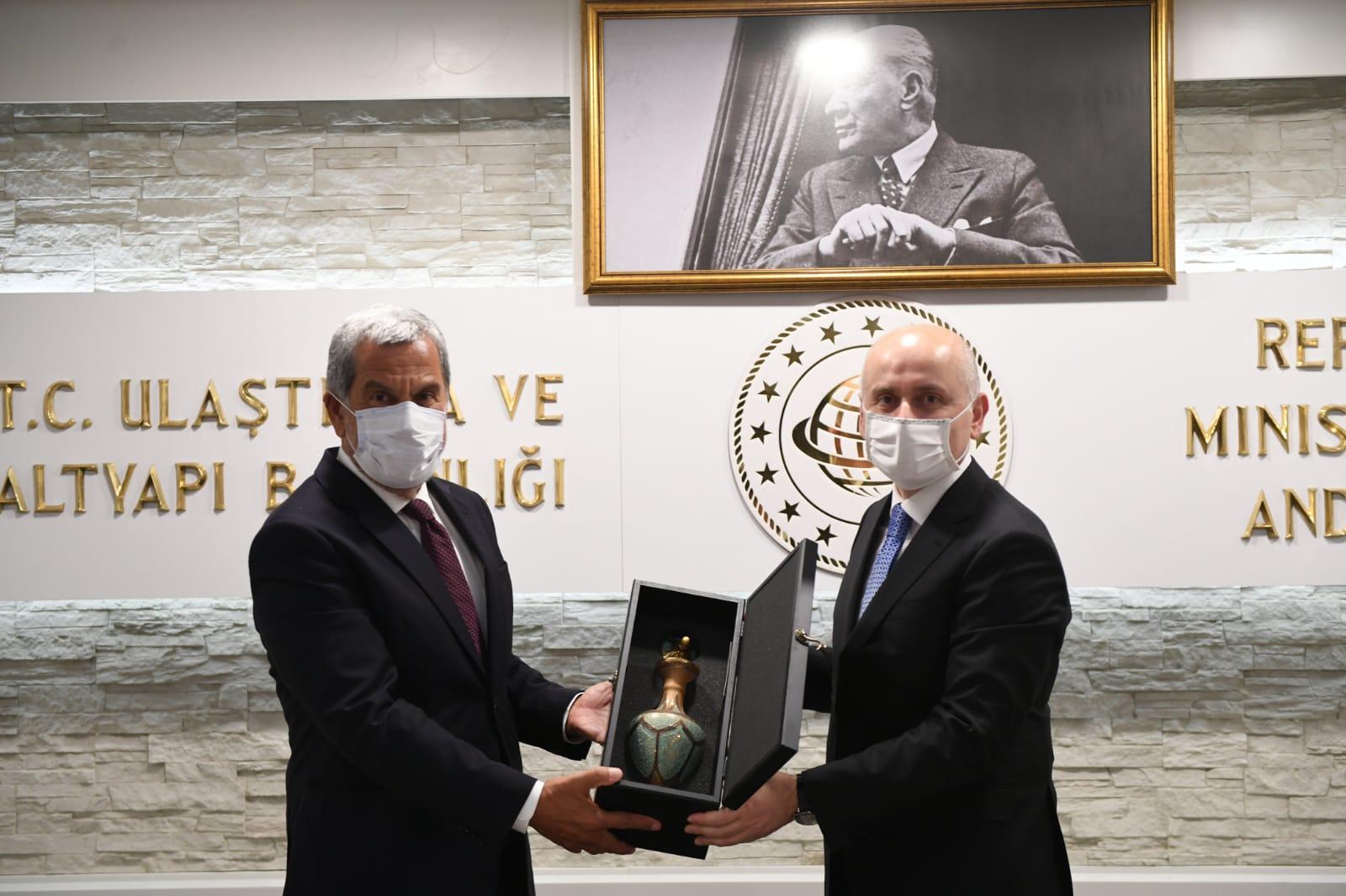 UND Heyeti, Ulaştırma ve Altyapı Bakanı Sayın Adil Karaismailoğlu'na Sektör Sorunları Aktardı
