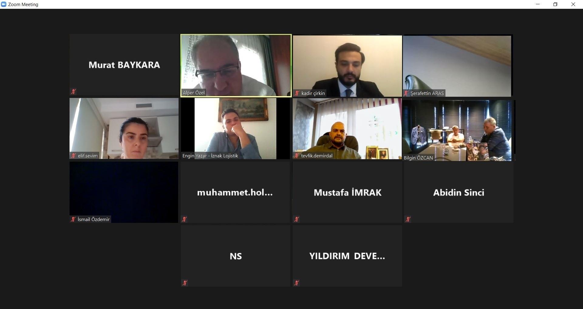 UND, İzmir Çalışma Grubu Gerçekleştirildi