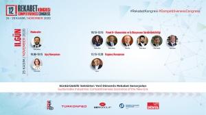12. Rekabet Kongresi'nde Sürdürülebilir Sektörler Masaya Yatırılacak