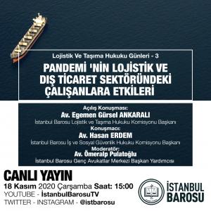 İstanbul Barosu Çevrimiçi Semineri