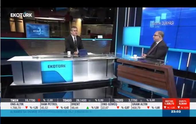 Lojistik Sektöründe Son Gelişmeler / EkoTürk TV