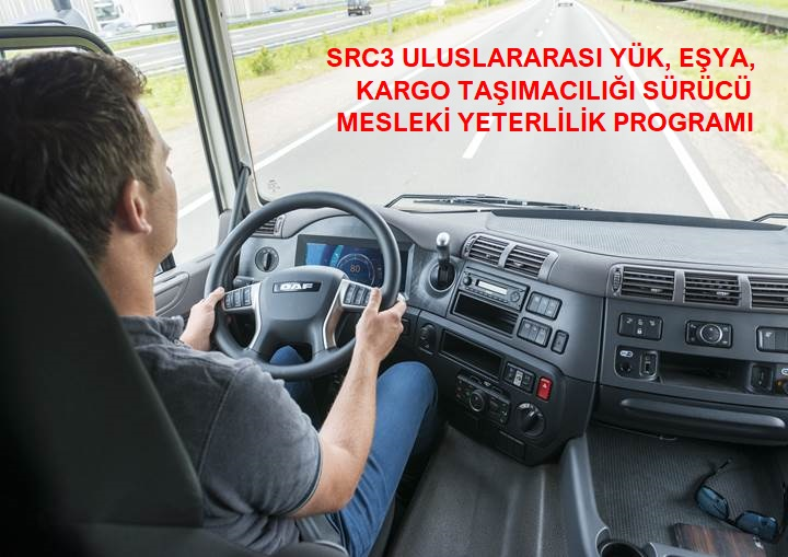 Mesleki Yeterlilik Eğitimi (SRC1/SRC2/SRC3/SRC4)