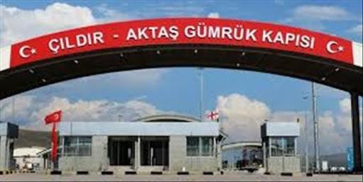 Türk Araçlarının Kartsakhi (Aktaş) Sınır Kapısından Geçişleri